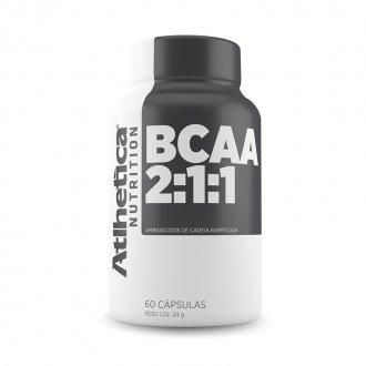 Imagem - Bcaa 2:1:1 (60caps) - Atlhetica Nutrition cód: 440