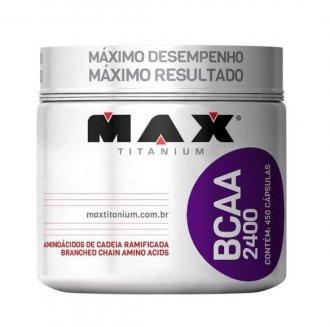 Imagem - Bcaa 2400 (450caps) - Max Titanium cód: 1072