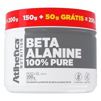 Imagem - Beta Alanina 100% Pure (200g) - Atlhetica Nutrition cód: 1318