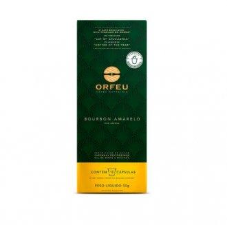 Imagem - Café 100% Arábica Bourbon Amarelo em Cápsulas (10caps) - Orfeu cód: 1107