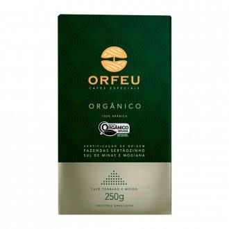 Imagem - Café 100% Arábica Orgânico (250g) - Orfeu  cód: 791