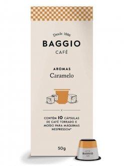 Imagem - Café Aromatizado Caramelo em Cápsulas (10caps) - Baggio cód: 1110