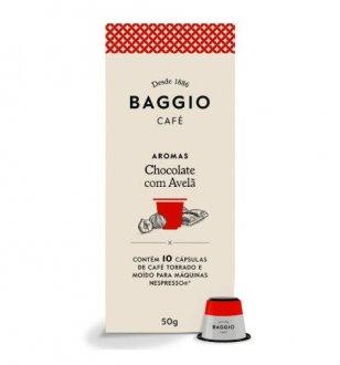 Imagem - Café Aromatizado Chocolate C/ Avelã em Cápsulas (10caps) - Baggio cód: 1112
