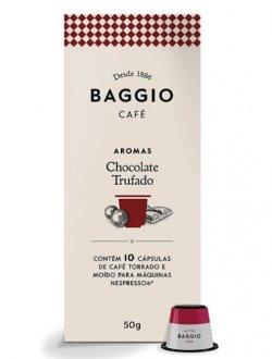 Imagem - Café Aromatizado Chocolate Trufado em Cápsulas (10caps) - Baggio cód: 1111