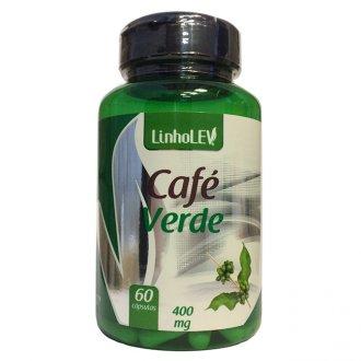 Imagem - Café Verde 60caps (400mg) - Linholev cód: 363