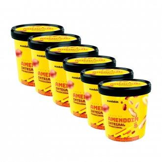 Imagem - Caixa 6un Pasta de Amendoim Integral (1,02kg) - Mandubim cód: 554