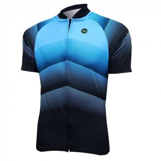 Imagem - Camisa Ciclismo Véllo (Azul/Preto) - BP cód: 1244