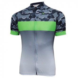 Imagem - Camisa Ciclismo Véllo (Camuflada c/ Verde) - BP cód: 1242