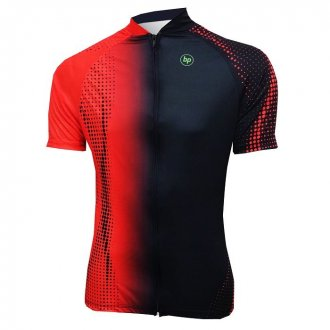 Imagem - Camisa Ciclismo Véllo (Vermelho/Preto) - BP cód: 1245