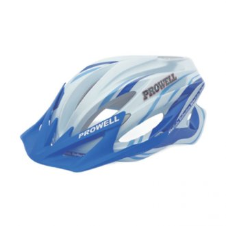 Imagem - Capacete Ciclismo F44 (Branco/Azul) - Prowell cód: 771