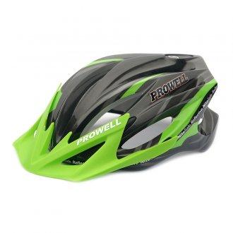 Imagem - Capacete Ciclismo F44 (Preto/Verde) - Prowell cód: 769
