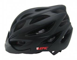 Imagem - Capacete Ciclismo (Preto Fosco) - Epic Line cód: 1209