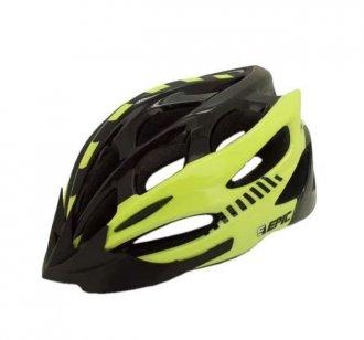 Imagem - Capacete Ciclismo (Preto/Amarelo Fluorescente) - Epic Line cód: 1208
