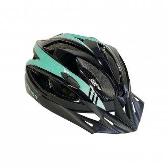 Imagem - Capacete Ciclismo (Preto/Verde Água) - Elleven cód: 1132