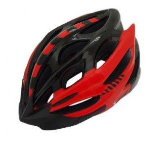 Imagem - Capacete Ciclismo (Preto/Vermelho) - Epic Line cód: 1210