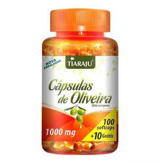 Imagem - Cápsulas de Oliveira 1000mg (100caps) - Tiaraju cód: 347