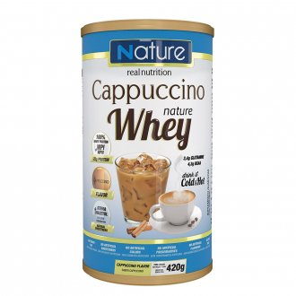 Imagem - Cappuccino Nature Whey (420g) - Nutrata cód: 401