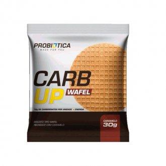 Imagem - Carb Up Wafel Caramelo (30g) - Probiótica cód: 1216