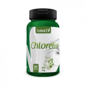 Imagem - Chlorella 400mg (60caps) - Linholev cód: 367