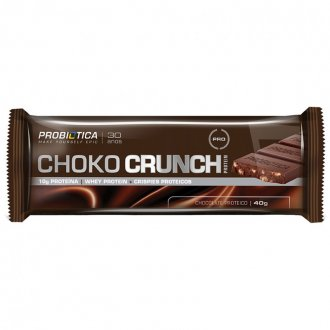 Imagem - Choko Crunch Chocolate em Barra (40g) - Probiótica cód: 424