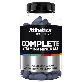 Imagem - Complete Multi-Vit (100tabs) - Atlhetica Nutrition cód: 449
