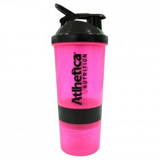 Imagem - Coqueteleira Blender 3 Doses Rosa (600ml) - Atlhetica Nutrition cód: 1061