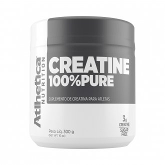 Imagem - Creatina 100% Pure (300g) - Atlhetica Nutrition cód: 819