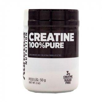 Imagem - Creatina 100% Pure (50g) - Atlhetica Nutrition cód: 452