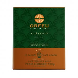 Imagem - Drip Coffee 100% Arábica Clássico (10 sachês) - Orfeu cód: 1304