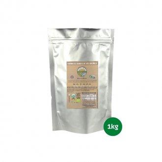 Imagem - Farinha de Semente de Uva Orgânica (1kg) - Organovita cód: 840