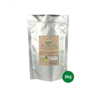 Imagem - Farinha de Semente de Uva Orgânica (3kg) - Organovita cód: 392