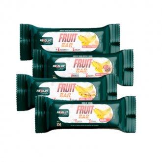 Imagem - Fruit Bar Banana + Chia e Linhaça ( Caixa c/ 12 barras) (300g) - Absolut Nutrition cód: 1226