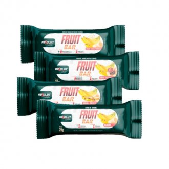 Imagem - Fruit Bar Banana Tradicional ( Caixa c/ 12 barras) (300g) - Absolut Nutrition cód: 1224