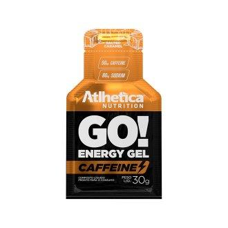 Imagem - GO! Energy Gel Caffeine (30g) - Atlhetica Nutrition cód: 453