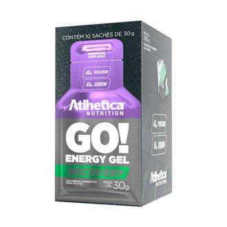 Imagem - GO! Energy Gel (Caixa c/ 10 sachês) - Atlhetica Nutrition cód: 792