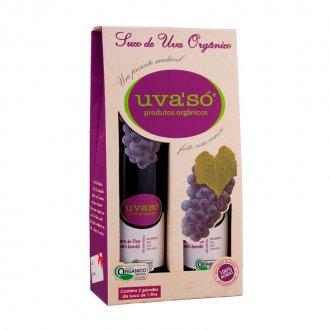 Imagem - Kit 2x Suco de Uva Orgânico Uvasó (1 litro) - Econatura cód: 378