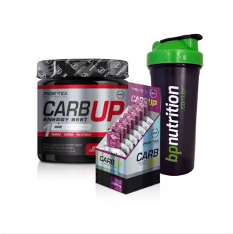 Imagem - Kit Carb Up Beet Energy (300g) + Carb Up Gel (caixa 10un) + Coqueteleira BP - Probiótica cód: 999