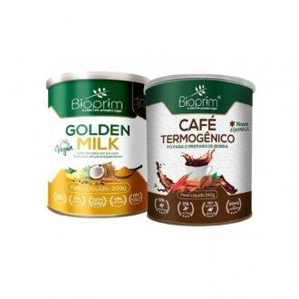 Imagem - Kit Golden Milk (300g) + Café Termogênico (240g) - Bioprim cód: 1021