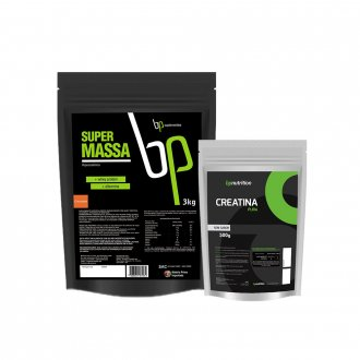 Imagem - Kit Super Massa (3kg) + Creatina (500g) - BP Nutrition cód: 978