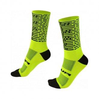 Imagem - Meia Biometria (Verde Neon/Preto) - HUPI | Tamanho: Único cód: 1171