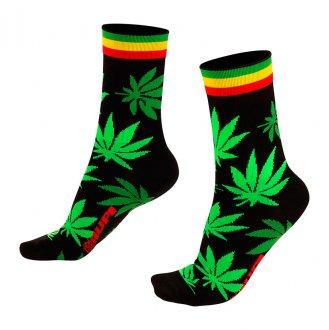 Imagem - Meia Cannabis - HUPI cód: 474