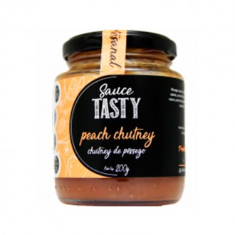Imagem - Molho Chutney de Pêssego (200g) - Sauce Tasty cód: 735