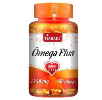 Imagem - Ômega Plus 3-6-9 1250mg (60caps) - Tiaraju  cód: 355