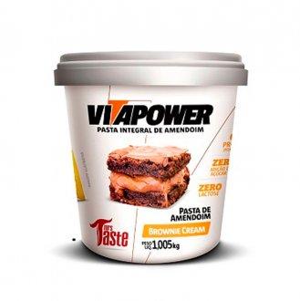 Imagem - Pasta de Amendoim Brownie Cream (1kg) - Vitapower cód: 581