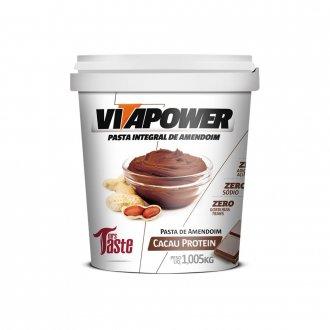 Imagem - Pasta de Amendoim Cacau Protein (1kg) - Vitapower cód: 817