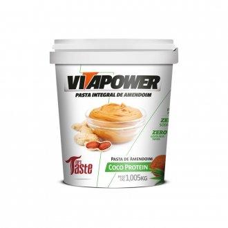 Imagem - Pasta de Amendoim Coco Protein (1kg) - Vitapower cód: 816