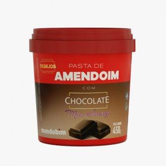Imagem - Pasta de Amendoim com Chocolate Amargo (450g) - Mandubim cód: 712