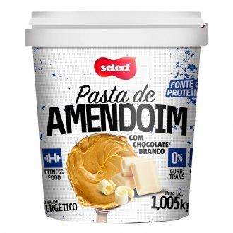 Imagem - Pasta de Amendoim com Chocolate Branco (1,005kg) cód: 343