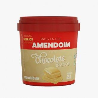Imagem - Pasta de Amendoim com Chocolate Branco (450g) - Mandubim cód: 711