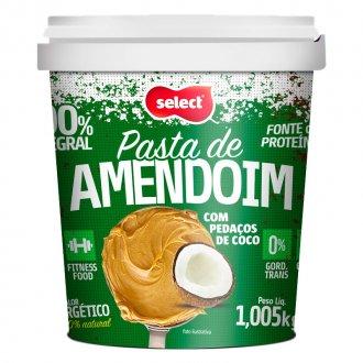 Imagem - Pasta de Amendoim com Pedaços de Coco (1,005kg) cód: 341
